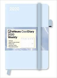 Ice Blue/Water Cool Diary 2020
