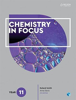 Chemistry in Focus Prelim 11 Student Book with 4 Access Codes