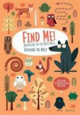 Find Me! Train Your Brain with Bernard the Wolf in the Wood