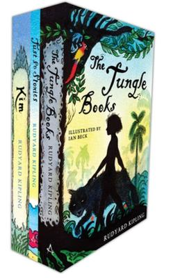 Illustrated Kipling Classics ( Box set: Jungle Book, Just So Stories & Kim)