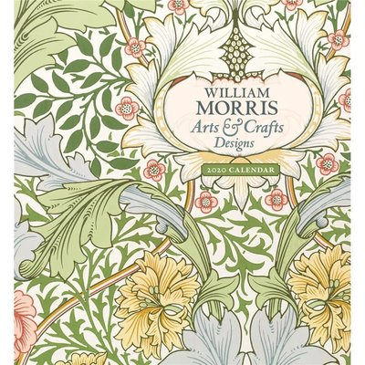 William Morris : Arts & Crafts 2020 Wall Calendar