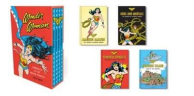 Wonder Woman: Chronicles of the Amazon Princess - (4 Hardcover, Illustrated Books)