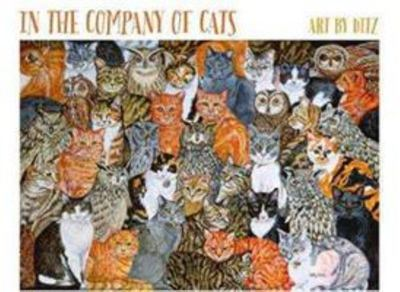 In the Company of Cats by Ditz Notecards