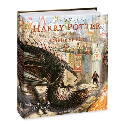 Harry Potter and the Goblet of Fire (Illustrated Edition #4)
