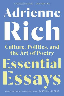 Essential Essays - Culture, Politics, and the Art of Poetry