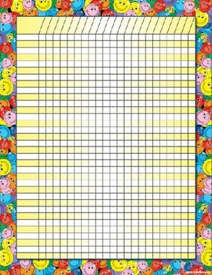 CH6316 Smiley Face Incentive Chart - ATA