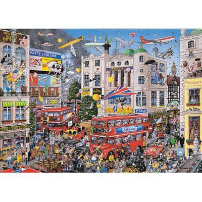 I Love London 1000pc Gibsons Puzzle