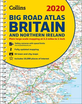 2020 Collins Big Road Atlas Britain