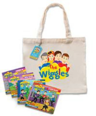 Little Bookworms Bag of Books: The Wiggles