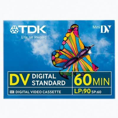 TDK Digital Video Cassette 60min Mini DV - GNS