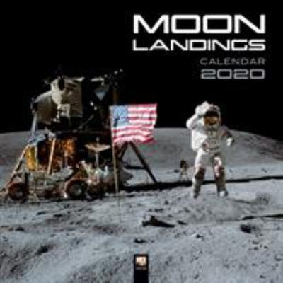 2020 The Moon Landings Wall Calendar FLT CAL2020 92