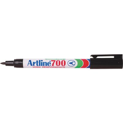 Permanent 700 Black Artline Fine Bullet 0.7MM - GNS