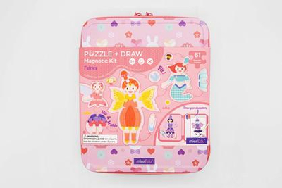 Puzzle and Draw Magnetic Kit - Fairies - Fairy Tales