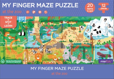 My Finger Maze Puzzle - At The Zoo