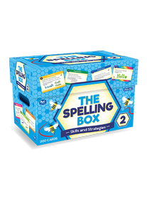The Spelling Box Box 2 Ages 7-8 RIC–8465