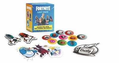 Fortnite Loot Pack - Includes Pins, Patch, Magnets, and Stickers!