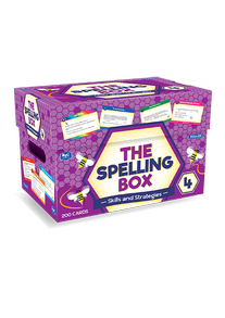 The Spelling Box Box 4 Ages 9-10 RIC–8467