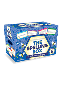 The Spelling Box Box 6 Ages 11-12 RIC–8469