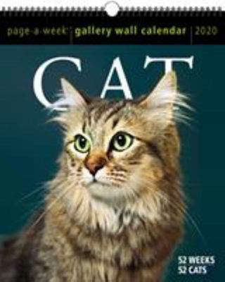 2020 CAT PAGE-A-WEEK GALLERY WALL CALENDAR