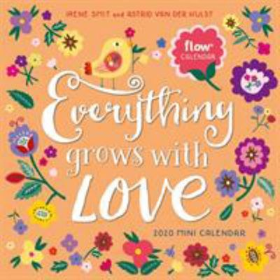 2020 EVERYTHING GROWS WITH LOVE MINI CALENDAR