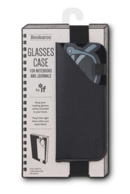 Bookaroo  Glasses Case - Black