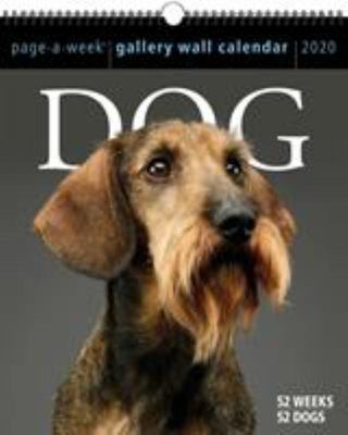 2020 DOG PAGE-A-WEEK GALLERY WALL CALENDAR