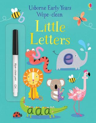 Early Years Wipe Clean Little Letters 4-5