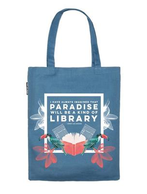 Tote Bag - Paradise Library