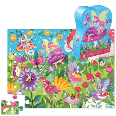 Fairy Garden Floor Puzzle (36pc)