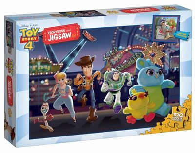 Toy Story 4: Storybook and Jigsaw Set (Disney-Pixar)