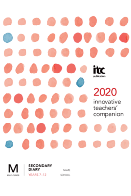 Large itc secondary diary 2020