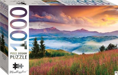 Capathian Mountains Europe: 1000-Piece Jigsaw Puzzle Mindbogglers