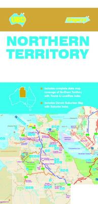 Northern Territory State and Suburban Map 571 14th Ed