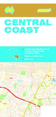 Central Coast NSW Suburban Streets Map 289 15th Ed