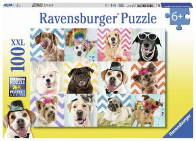Rburg - Doggy Disguise Puzzle 100pc
