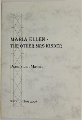 Maria Ellen: The Other Mrs Kinder