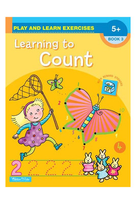 BZ167 Learning to Count Book 3 with Reward Stickers Ages 5+ - Ed
