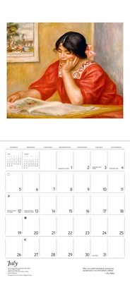 The Reading Woman 2020 Wall Calendar