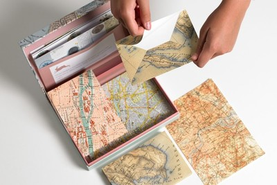 Maps: Letter Writing Set