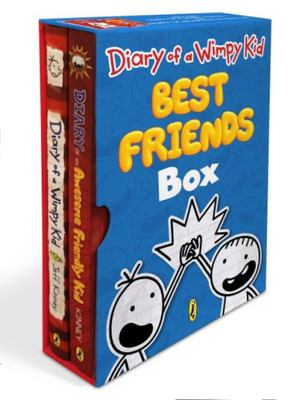 Diary of a Wimpy Kid Best Friends Box: Diary of a Wimpy Kid, Book 1 and Diary of an Awesome Friendly Kid