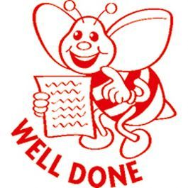 ST1206 Merit Stamp Well Done Bee - ATA