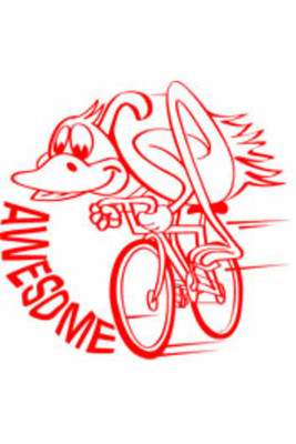 ST1250 Awesome Athlete Stamp - ATA