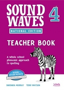 Sound Waves 4 Teacher Book with 1 Year Online access National Edition - Firefly