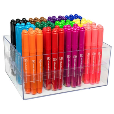 Master Mega Markers Jumbo Markers 12 Colours Singles - GNS
