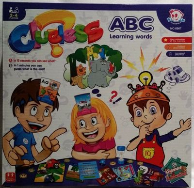 Clueless ABC Learning Words Game Ages 3+ 2-4 players - No. 6867 - G Star