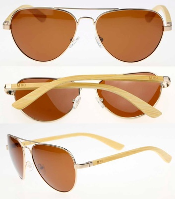 Aviators - Maverick Plain - Moana Rd Sunnies #480