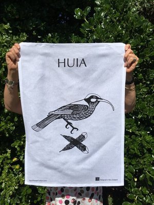 Tea Towel - Jo Luping Huia