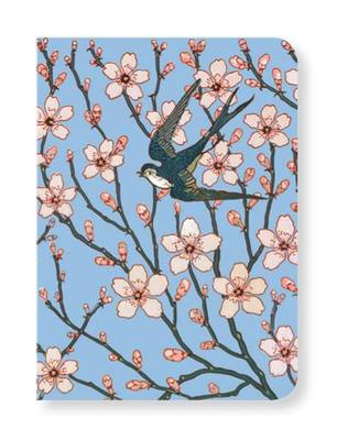 Almond Blossom & Swallow Notecard pk8 (MG-SOC163)