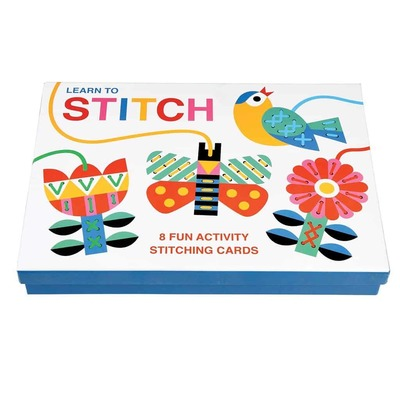 Learn to Stitch Stitching Cards Kit