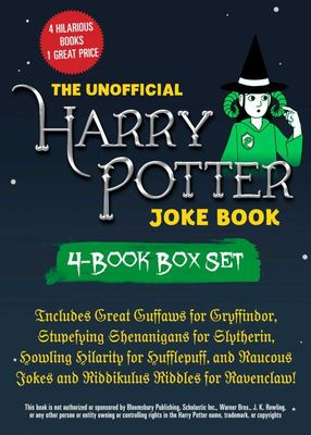 The Unofficial Harry Potter Joke Book - Includes Great Guffaws for Gryffindor, Stupefying Shenanigans for Slytherin, Howling Hilarity for Hufflepuff, and Raucous Jokes and Riddikulus Riddles for Ravenclaw!